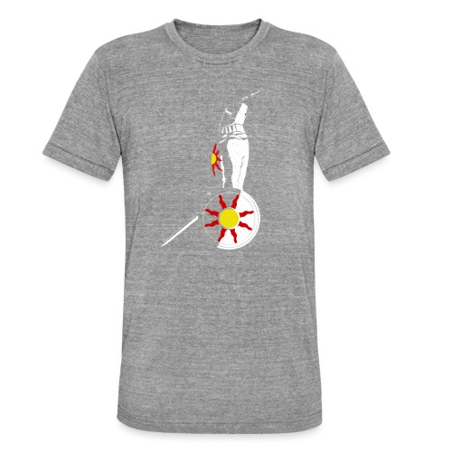 Solaire, Knight of Astora - Maglietta unisex tri-blend di Bella + Canvas