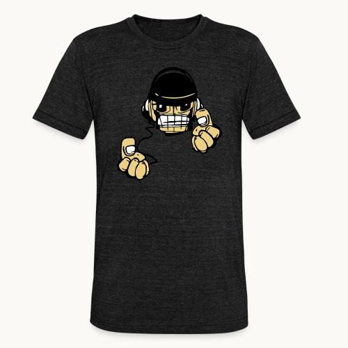 Micky DJ - T-shirt chiné Bella + Canvas Unisexe