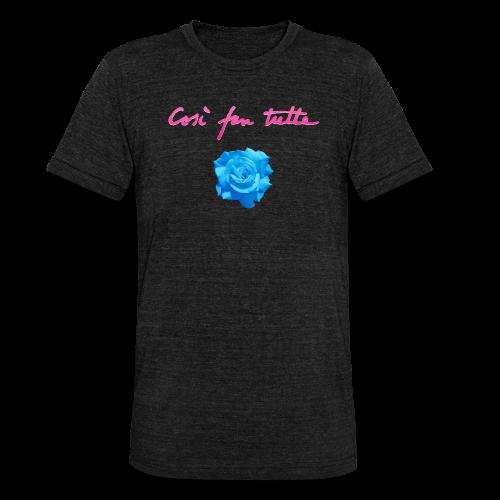 Così fan tutte — Rose - Maglietta unisex tri-blend di Bella + Canvas