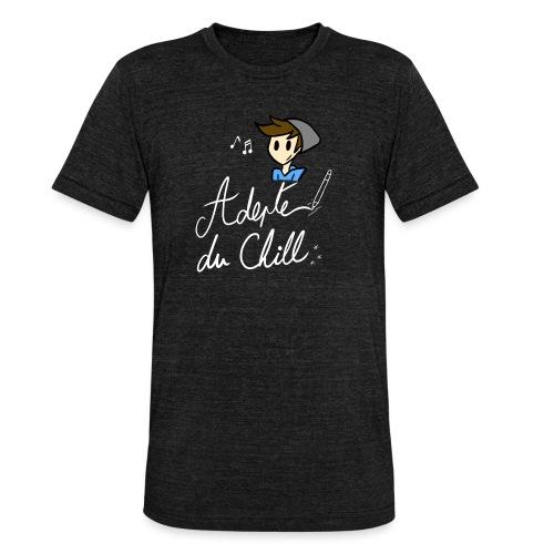Adepte du Chill - T-shirt chiné Bella + Canvas Unisexe