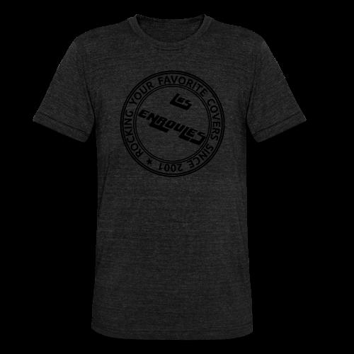 Badge - T-shirt chiné Bella + Canvas Unisexe