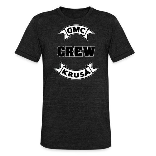 GMC CREWSHIRT - KUN FOR / CREW MEMBERS ONLY - Unisex tri-blend T-shirt fra Bella + Canvas
