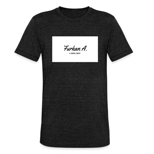 Furkan A - Drinkfles - Unisex tri-blend T-shirt van Bella + Canvas