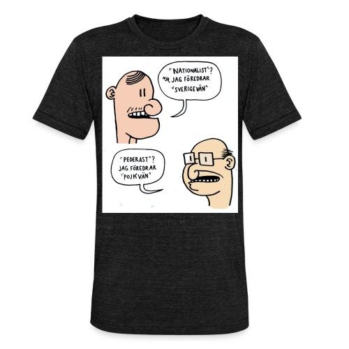 Pojkvän - Triblend-T-shirt unisex från Bella + Canvas