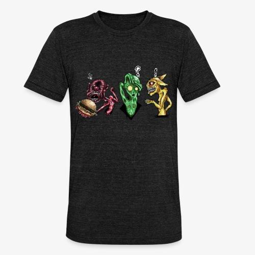 Weird communication - T-shirt chiné Bella + Canvas Unisexe