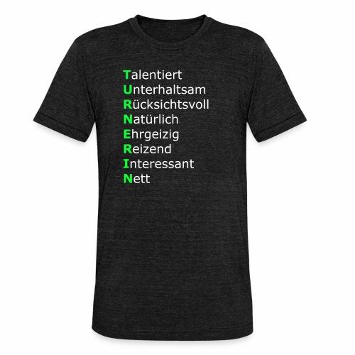 Turnerin - Unisex Tri-Blend T-Shirt von Bella + Canvas