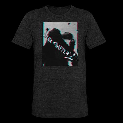 Dark Chapter 2 stylized - Unisex Tri-Blend T-Shirt von Bella + Canvas