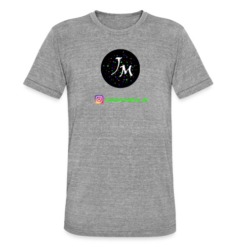 jminformation-Logo - Unisex Tri-Blend T-Shirt von Bella + Canvas