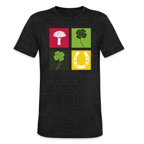 Just my luck Glück - Unisex Tri-Blend T-Shirt von Bella + Canvas