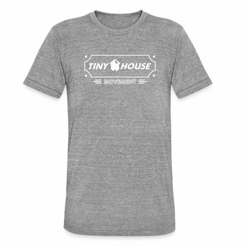 TinyHouse - Unisex Tri-Blend T-Shirt von Bella + Canvas