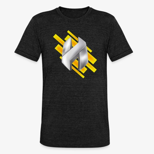 Abstract Yellow - Unisex Tri-Blend T-Shirt by Bella & Canvas