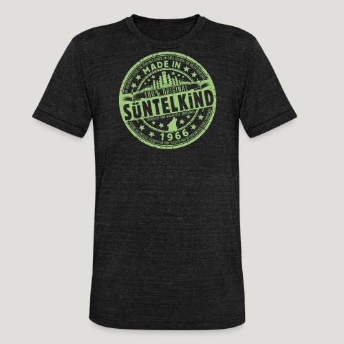 SÜNTELKIND 1966 - Das Süntel Shirt mit Süntelturm - Unisex Tri-Blend T-Shirt von Bella + Canvas