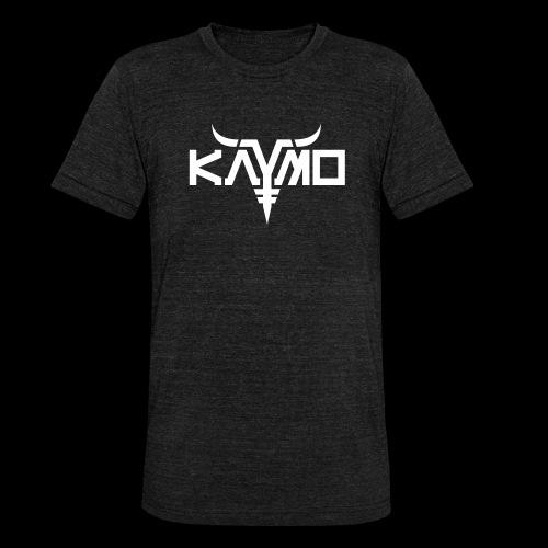 KayMo Logo - Unisex tri-blend T-skjorte fra Bella + Canvas