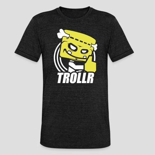 TROLLR Like - T-shirt chiné Bella + Canvas Unisexe