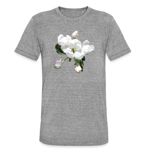 Omenankukka ja kukkakärpänen - Bella + Canvasin unisex Tri-Blend t-paita.