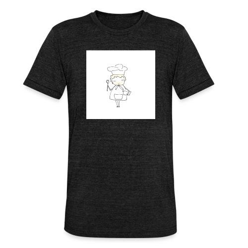Maglietta 1 - Maglietta unisex tri-blend di Bella + Canvas
