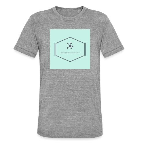 Ich bin nicht so dumm wie du aussiehst - Unisex Tri-Blend T-Shirt von Bella + Canvas