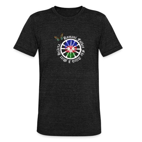 LennyhjulRomaniFolketivitfjerliskulle - Triblend-T-shirt unisex från Bella + Canvas