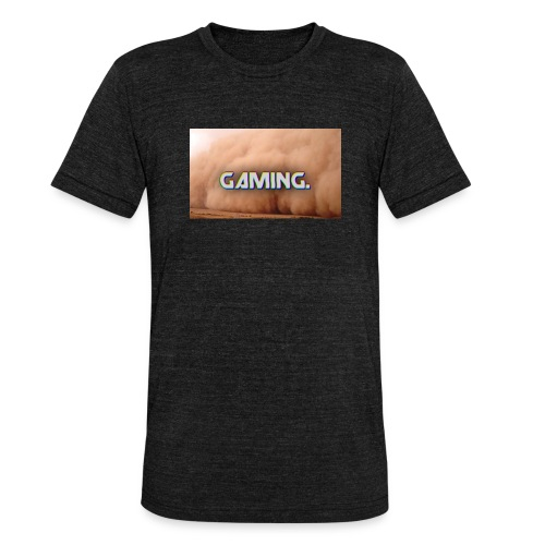 GamingDust LOGO - Unisex Tri-Blend T-Shirt by Bella & Canvas
