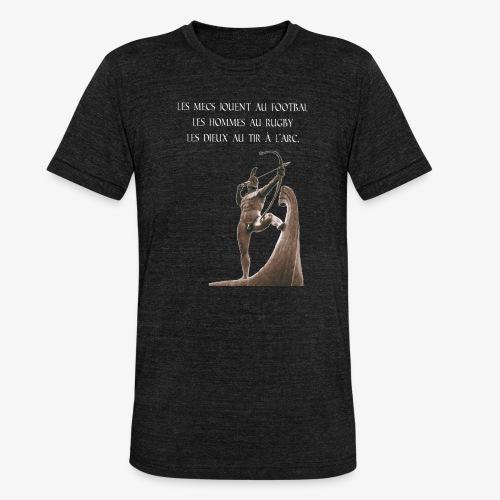 dieu du tir à l'arc - T-shirt chiné Bella + Canvas Unisexe