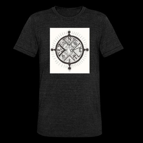 La Maison Des Mains Angel Cove - Unisex Tri-Blend T-Shirt by Bella & Canvas