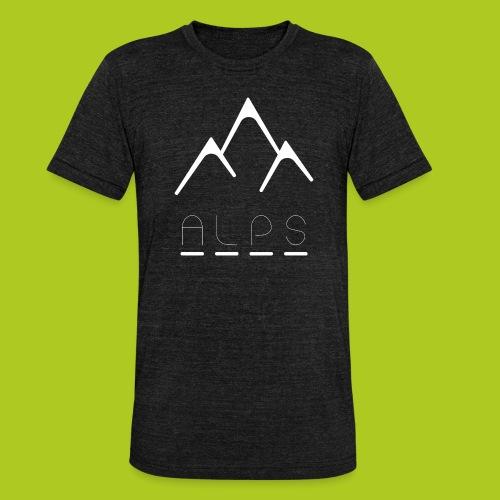 Alps - T-shirt chiné Bella + Canvas Unisexe