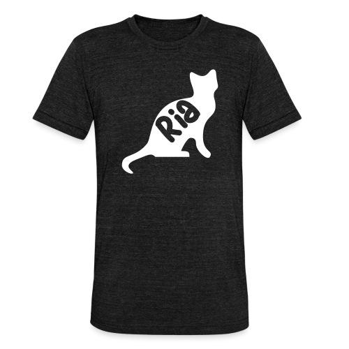 Team Ria Cat - Unisex Tri-Blend T-Shirt by Bella + Canvas
