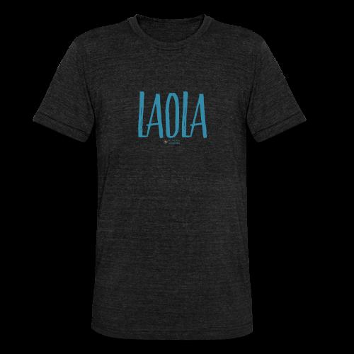 ola - Camiseta Tri-Blend unisex de Bella + Canvas
