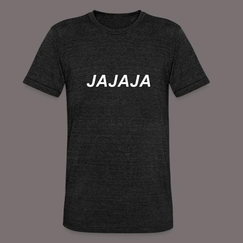 Ja - Unisex Tri-Blend T-Shirt von Bella + Canvas