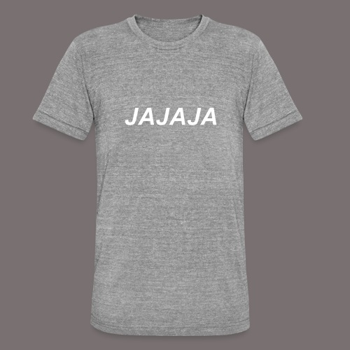 Ja - Unisex Tri-Blend T-Shirt von Bella + Canvas