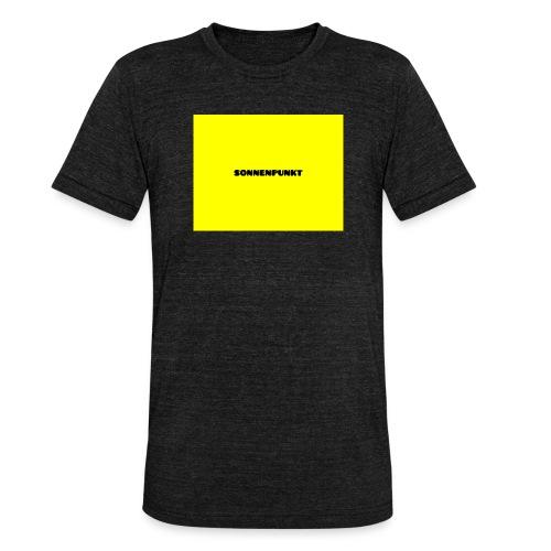 Sonnenpunkt schriftart - Unisex Tri-Blend T-Shirt von Bella + Canvas