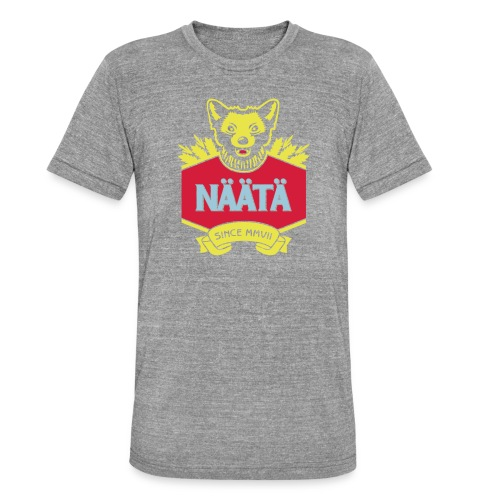 Näätä - Bella + Canvasin unisex Tri-Blend t-paita.