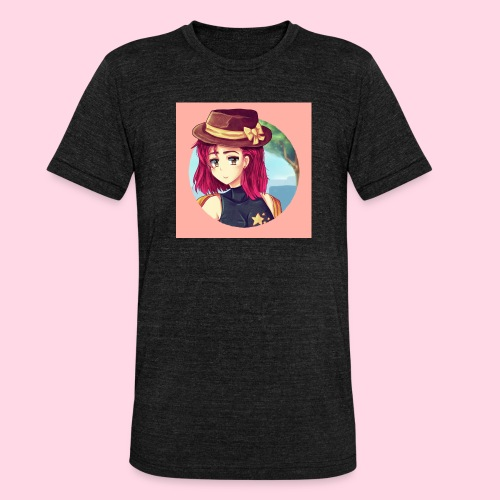 Juliette Badge - T-shirt chiné Bella + Canvas Unisexe