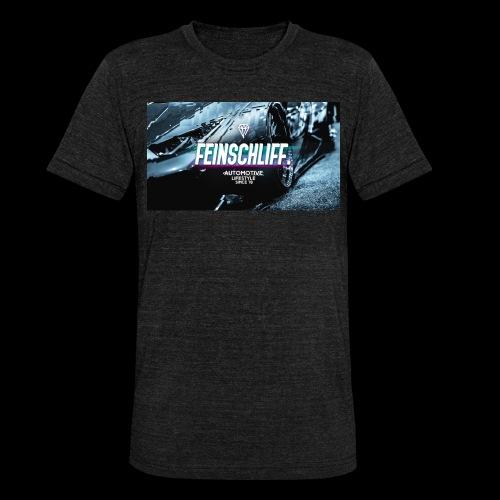 Feinschliff. Lambo Print - Unisex Tri-Blend T-Shirt von Bella + Canvas
