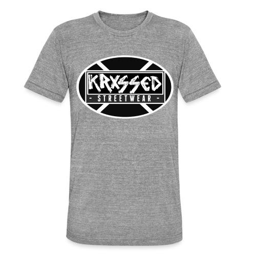 KRXSSED BASIC - Unisex tri-blend T-shirt van Bella + Canvas