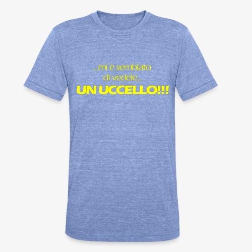 mi e semblato - Unisex Tri-Blend T-Shirt by Bella & Canvas