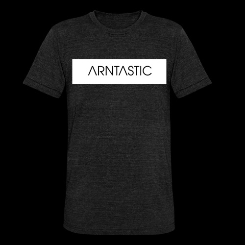 ARNTASTIC balken weiss - Unisex Tri-Blend T-Shirt von Bella + Canvas