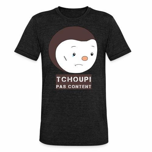 Tchoupi pas content ! - T-shirt chiné Bella + Canvas Unisexe