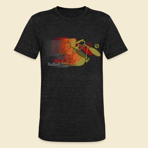 Radball | Earthquake Germany - Unisex Tri-Blend T-Shirt von Bella + Canvas