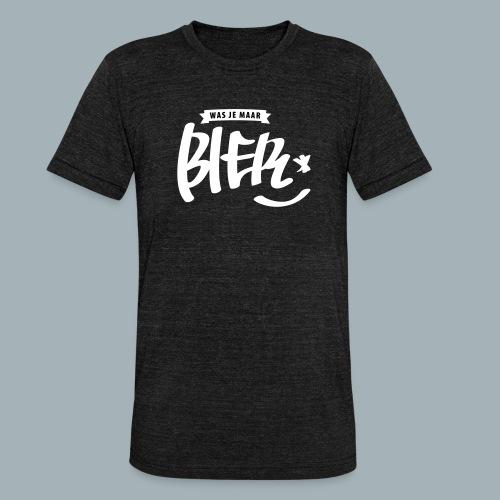 Bier Premium T-shirt - Unisex tri-blend T-shirt van Bella + Canvas