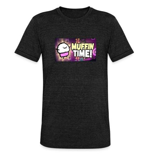 Its Muffin Time 2 - Unisex Tri-Blend T-Shirt von Bella + Canvas