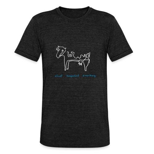 Kuh alifiziert - Unisex Tri-Blend T-Shirt von Bella + Canvas