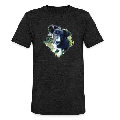 colliegermanshepherdpup - Unisex Tri-Blend T-Shirt by Bella & Canvas