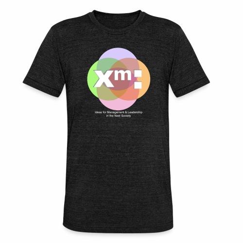xm-institute - Unisex Tri-Blend T-Shirt von Bella + Canvas