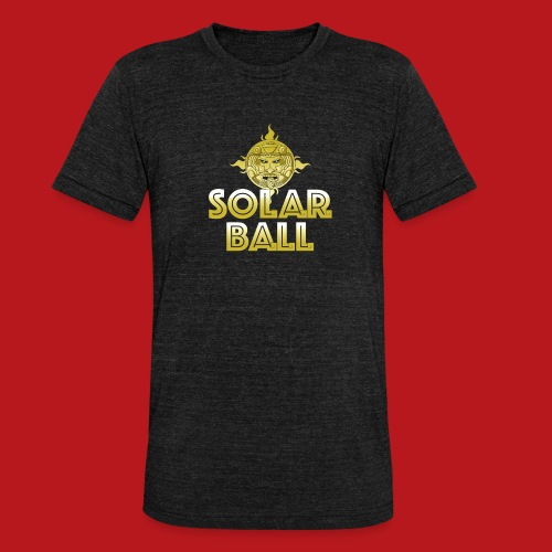 Solar Ball - T-shirt chiné Bella + Canvas Unisexe