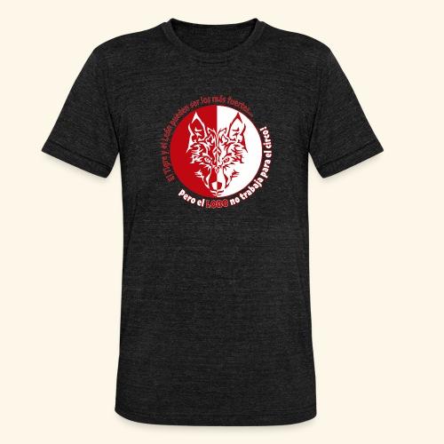 LOBO - Camiseta Tri-Blend unisex de Bella + Canvas