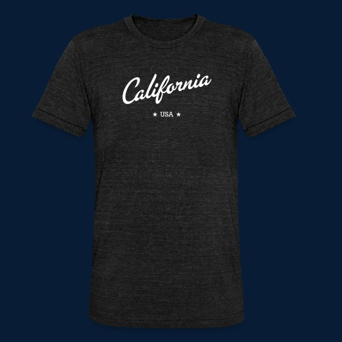 California - Unisex Tri-Blend T-Shirt von Bella + Canvas