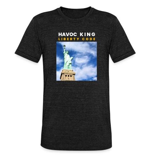 Havoc King Cover - Unisex Tri-Blend T-Shirt von Bella + Canvas