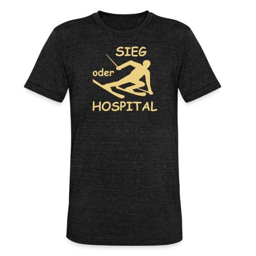 Sieg oder Hospital - Unisex Tri-Blend T-Shirt von Bella + Canvas