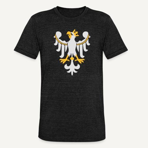 Orzeł Piastowski - Koszulka Bella + Canvas triblend – typu unisex